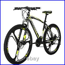 Eurobike X1 27.5 Mens Mountain Bike Shimano 21 Speed Bicycle Disc Brakes MTB