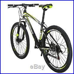 Eurobike X1 27.5 Mountain Bike Mens mtb Shimano 21 Speed Bicycle Disc Brakes