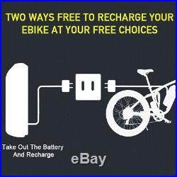Fat Tire Mountain Bike 1000w 48v Electric Bikes for Men 264 Fat-tire Blue Ebike