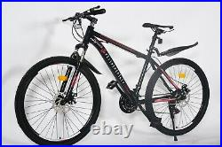 FireFlygb 26 Inch 21-Speed Mountain Bike Front Suspension, Shimano, Disc Brakes