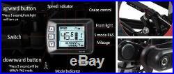 Folding Electric Mountain Bike Lithium Battery 48V 10.4AH 26 Brand New 21 Speed