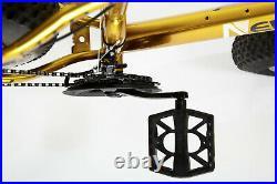 Front Suspension Mountain Bike Bicycle Men/Women Fat Tire 26 MTB GOLD