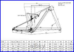 Full Suspension Carbon Frame Rockshox shock Mountain Bike Dropper seatpost 29er