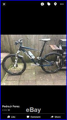 Full Suspension Giant Anthem X4 tubeless Mountain Bike tubeless wheels and tyres