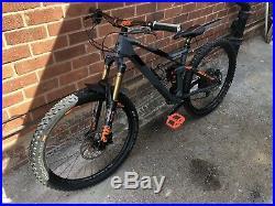Full suspension mountain Bike Cube Stereo Hpc Tm 140 Medium