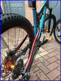 Full suspension mountain bike frame 27.5