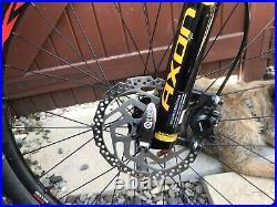 Full suspension mountain bike large frame