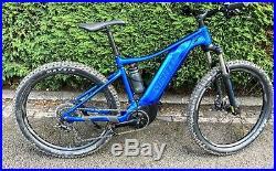Giant Fathom E+3 2020 Electric Mountain Bike Medium 27.5 Wheels 4 Mths Old VGC