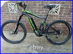Giant Full E Electric Mountain Bike Full Suspension Emtb, E-mtb New Tyres Etc