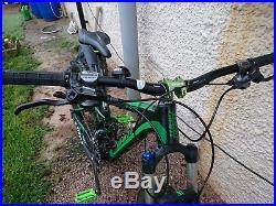 Giant Stance full suspension mountain Bike light use, medium frame spare tyres