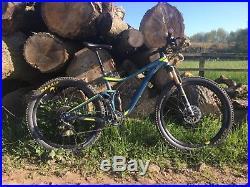 Giant Trance 1 2016 MTB mountain bike m medium full factory fox suspension