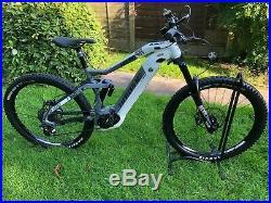 HAIBIKE Nduro 3.0 27.5 500 wh Bosch White/Grey mountain electric-Bike
