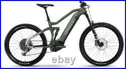 Haibike Xduro Allmtn 6 Electric Mountain Bike size Large Ex Demo 2021 Model