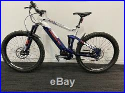Haibike full seven 5.0 electric mountain cycle bike size large