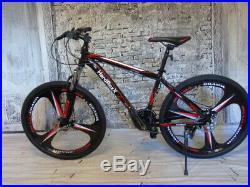 HardRoxX 24 Mountain Bike Lightweight Aluminium Frame, Front Suspension Men/Boy