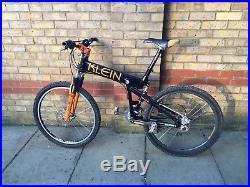 Klein Mantra Full Suspension Mountain Bike 1997 Extensive Component Upgrade