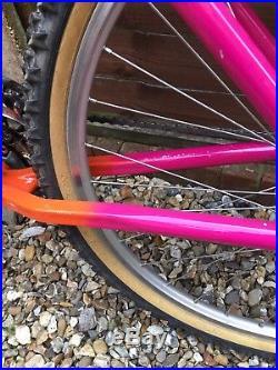 Klein Pinnacle Men's mountain bike, Pace RC30 forks, MC1 one piece handle bar