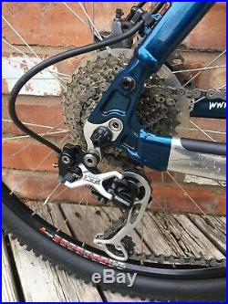 Kona Dawg XC Full Suspension Mountain Bike 18 Inch Frame