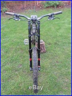 Kona Sticky full suspension downhill mountain bike
