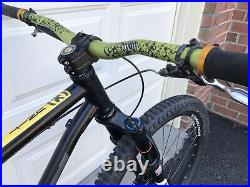 Kona Unit 29 hardtail MTB, steel SS with sliding dropouts & Yari fork, Large 19