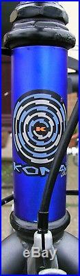 Kona fire mountain 1996 retro p2 forks, dx hubs, mavic 221's, racelight bars