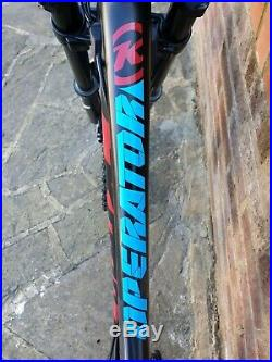 Kona full suspension carbon DH mountain bike