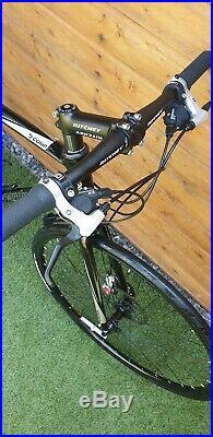 MINT Boardman comp hybrid town bike 22 XL frame RARE BALCK LIM. EDITION