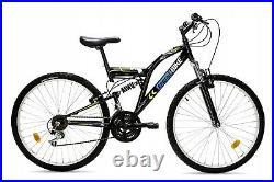Men/Women 18Speed 26/26 Wheel MTB Frames FULL Suspension Mountain Bike/Bicycle
