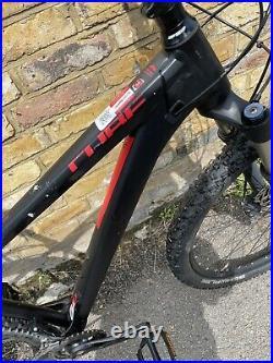 Mens CUBE Reaction pro29 Hardtail Mountain Bike, Medium Black & Red, 2018 model