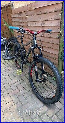 Mens Full Suspension Voodoo Canzo Mountain Bike