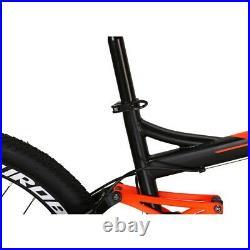 Mens Mountain Bike Full Suspension Bikes 27.5 Wheels Shimano 21 Speed Bicycle