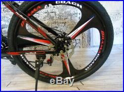Mens Mountain Bike Lightweight Aluminium 26 Wheel Front Suspension, HardRoxX