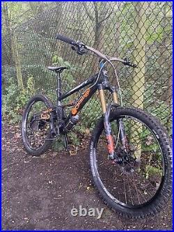 Mens Mountain Bike Orange Alpine 160 Rs