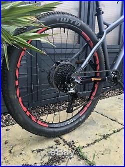 Mens Orange Crush S Mountain Bike Large