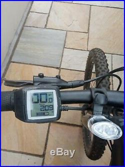 Mens ebike cube mountain bike
