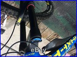 Mens used mountain bike full suspension mondraker foxy xr