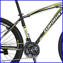 Mountain Bike 27.5 Shimano 21 Speed Disc Brakes Bicycle Front Suspension