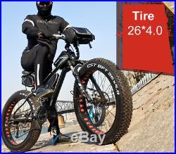Mountain Bike/Bicycle NEW SPEED Men/Women Fat Tire 26MTB Frame Full Suspension