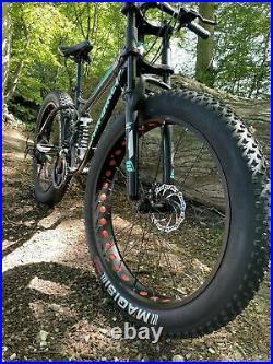 Mountain Bike Fat Tyre Bicycle Full Suspension Fat bike Down Hill Downhill
