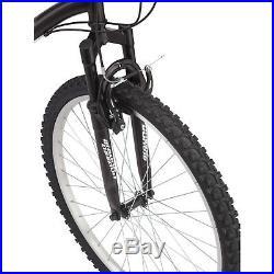 NEW Mountain Bike 26 Inch Roadmaster Granite Peak Men's 18 Speed Bicycle BLACK