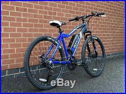 NEW eBIKE eLIFE PEAK ELECTRIC MOUNTAIN BIKE 36v 250w MOTOR PEDDLE ASSIST AMAZING