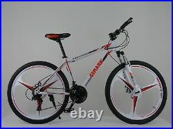 New GEMARN 21 Speed Mountain / Road Bike MTB Front Suspension Bicycle Men Women
