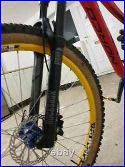 Norco Sight size medium full suspension with 27.5 wheels 150mm forks 140 rear