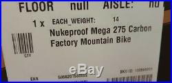 Nukeproof Mega 275 Factory Carbon Mountain Bike 2019 Green/Orange