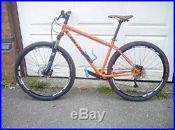 On one inbred 29er mountain bike
