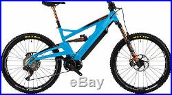 Orange Charger Factory Full Suspension Electric Mountain Bike 2019 Blue