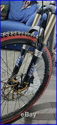 Orange Crush 26 Hardtail Mountain Bike XT Brakes, 1x10 Hope Hubs