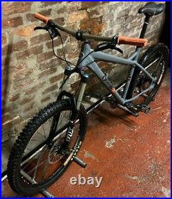 Orange Crush Mountain Bike Grey Size L Shimano Sram Fox DT Swiss