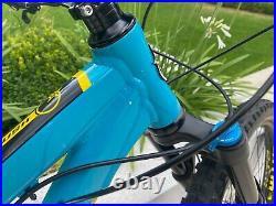 Orange Crush Pro 2020 Large Hardtail Enduro MTB in Blue