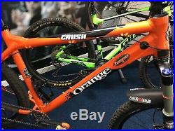 Orange Crush mountain bike MTB XL 21 Alloy Frame VGC Rockshox Sektor Shimano XT